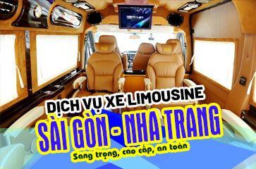 [TOP 10+] Nhà Xe Limousine Sài Gòn <=> Nha Trang!