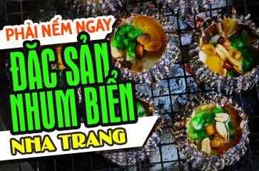 """Nhum Biển - Hãy """"Thử Một Lần"""" Khi Đến Với Nha Trang!"""