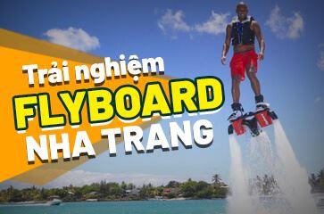"""Flyboard Nha Trang - Trò Chơi Chỉ Dành Cho """"Phái Mạnh""""!"""
