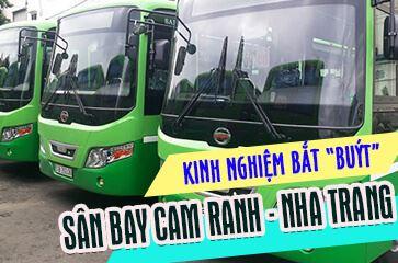 """Xe Bus Sân Bay Cam Ranh - Phương Tiện Di Chuyển """"Tiết Kiệm Nhất""""!"""