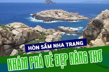 Khám Phá Vẻ Đẹp Hòn Sầm Nha Trang