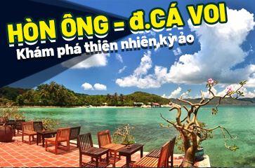 Vẻ Đẹp Kì Vĩ Của Tự Nhiên Tại Đảo Hòn Ông – Đảo Cá Voi Nha Trang!