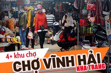 Chợ Vĩnh Hải Nha Trang - [TOP 4] Khu Chợ Nổi Tiếng!