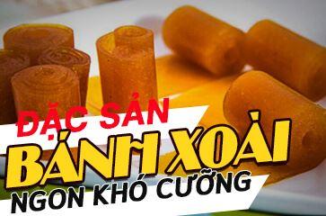 """Đặc Sản Nha Trang - Bánh Xoài Nha Trang """"Ngon Khó Cưỡng""""!"""