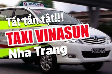 Vinasun Nha Trang - TOP Taxi Nha Trang Nổi Tiếng Bạn Cần Nắm!