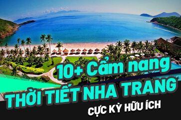 [TOP 10+ Lưu Ý] Thời Tiết Nha Trang – Cẩm Nang Du Lịch Nha Trang!