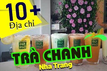 [TOP 10+] Địa Chỉ Trà Chanh Nha Trang Nổi Tiếng - Vạn Người Mê!