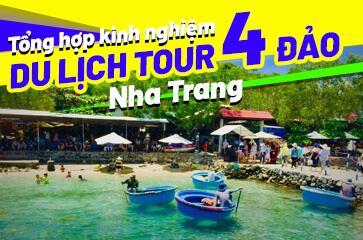 [TOP 10+] Kinh Nghiệm Đi Tour 4 Đảo Nha Trang 2020!