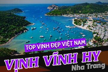 """Vịnh Vĩnh Hy - """"TOP Vịnh Đẹp Nhất Việt Nam"""" Chờ Bạn Khám Phá!"""