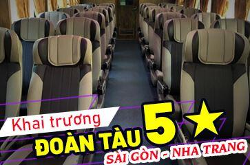 Khai Trương Đoàn Tàu '5 Sao' Tuyến Sài Gòn – Nha Trang