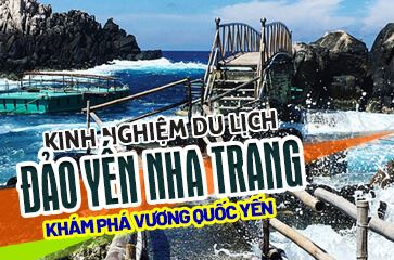 """Hành Trình Khám Phá Đảo Yến Hòn Nội - """"Hòn Ngọc Nha Trang""""!"""