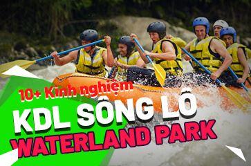 1 Vòng Trải Nghiệm Khu Du Lịch Giải Trí Sông Lô WonderparkNha Trang