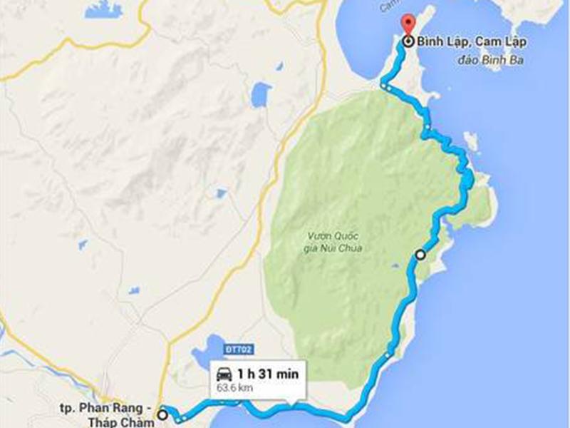 Hướng dẫn đi đảo Bình Lập