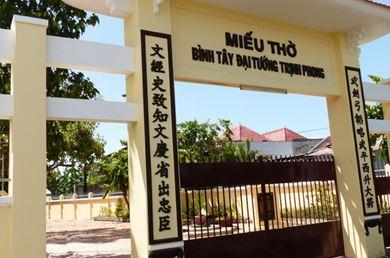 Miếu Thờ Trịnh Phong Diên Khánh