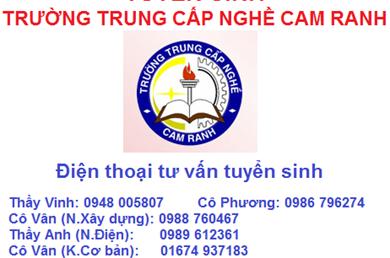 Trường Trung Cấp Nghề Cam Ranh