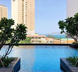 Parama Apartments Balcony Beachfront Nha Trang