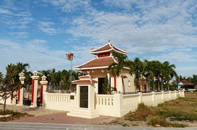 Đền Thờ Trần Qúy Cáp Diên Khánh