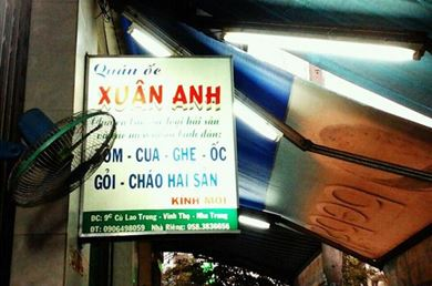 Ốc Xuân Anh Nha Trang