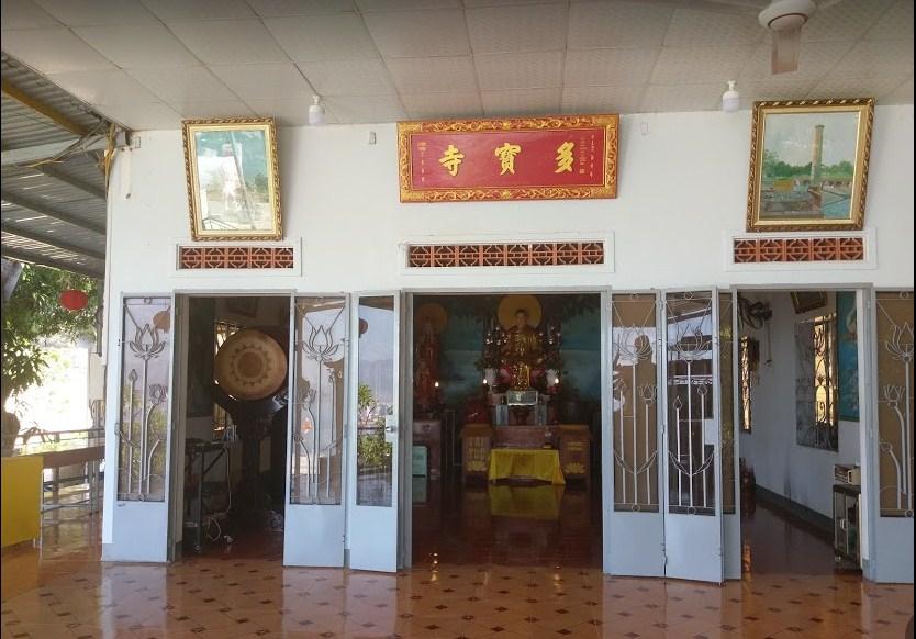 Chánh điện chùa Đa Bảo