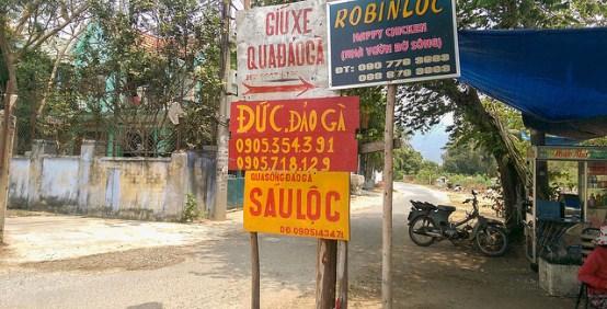 Quán Sáu Lộc và Đức đảo Gà Nha Trang