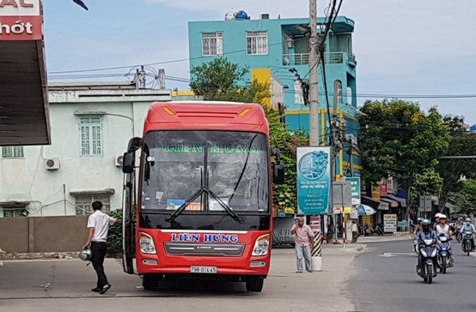 Xe Liên Hưng Sài Gòn đi Nha Trang