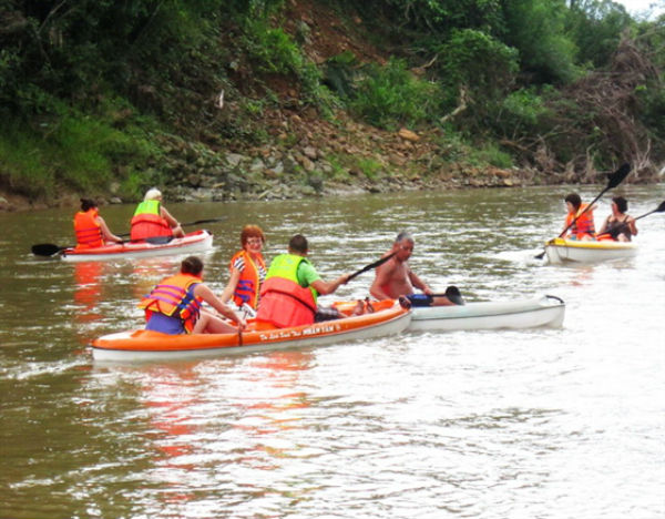 Chèo thuyền kayak nhân tâm nha trang