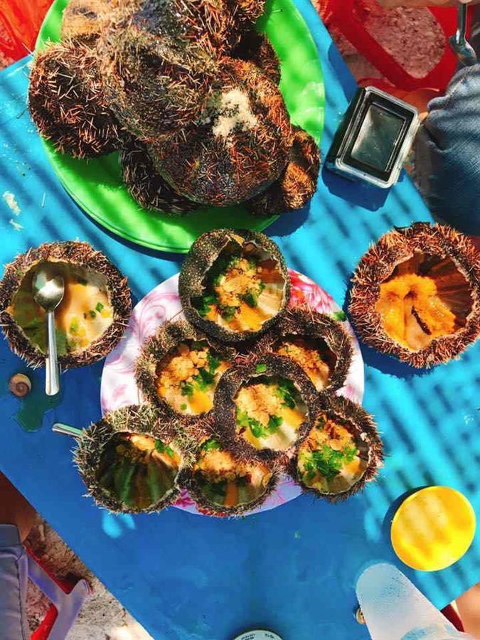 Nhum biển đảo Bình Hưng