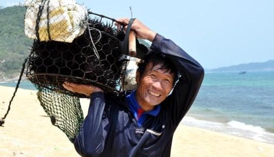 Cách bắt nhum biển