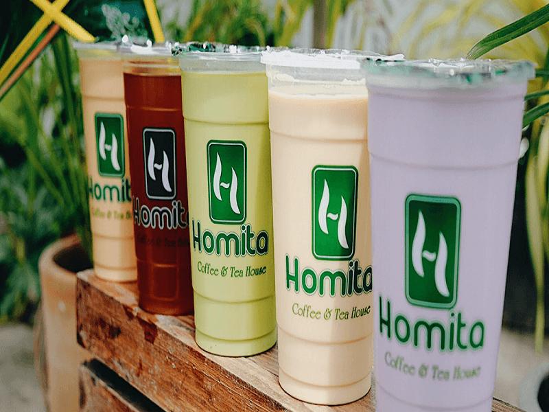 Trà sữa homita Nha Trang