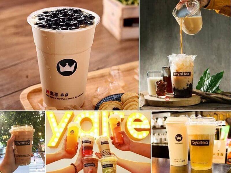 Trà sữa Royal tea Nha Trang