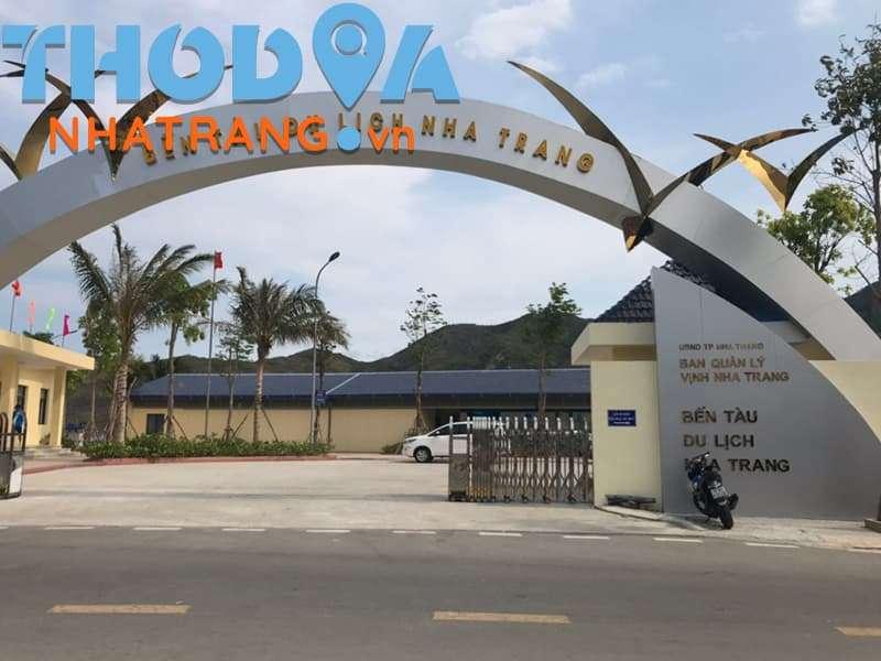 Cổng Chính Bến Tàu Du Lịch Nha Trang