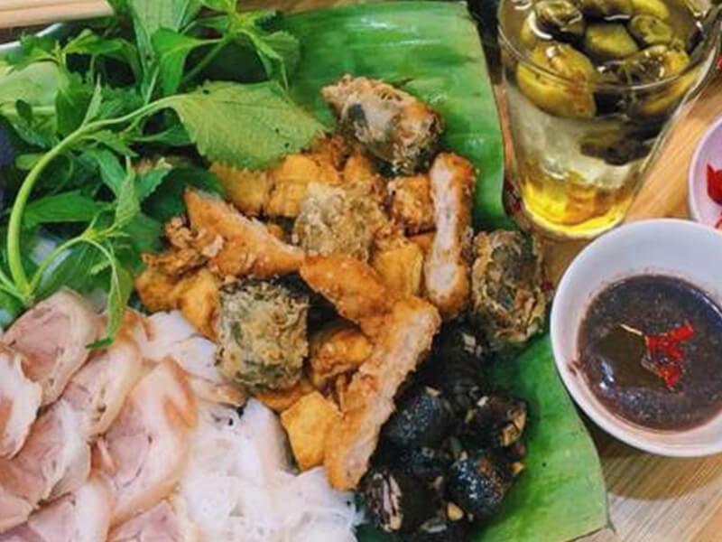 Bún Đậu Mắm Tôm Nia Nha Trang