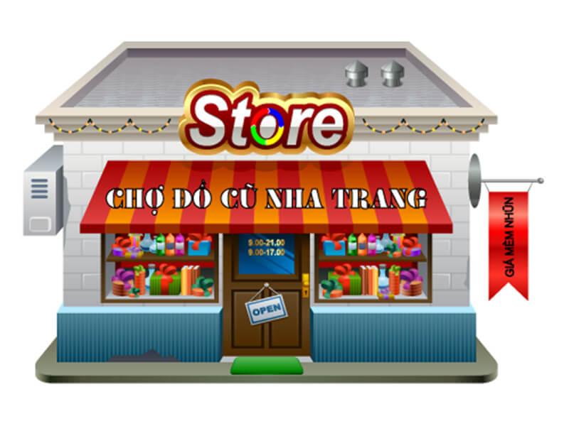 Chợ đồ cũ Nha Trang
