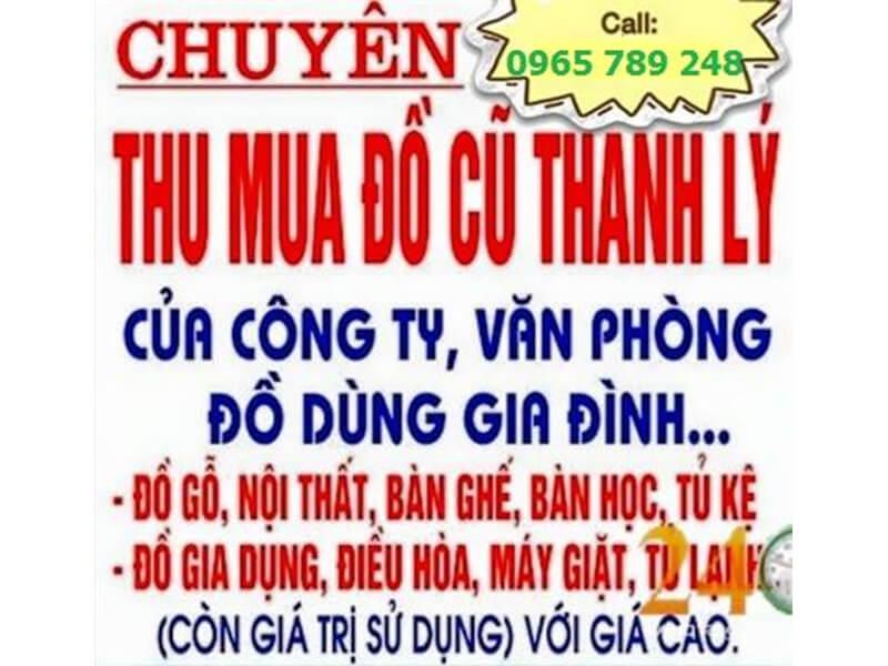 Chợ thanh lý Nha Trang