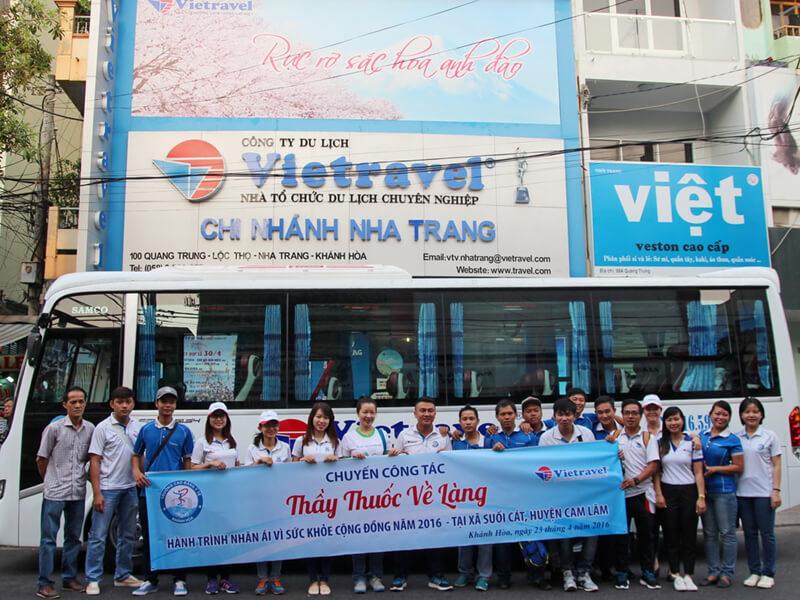 Chi nhánh VIETRAVEL TP.HCM tại Nha Trang