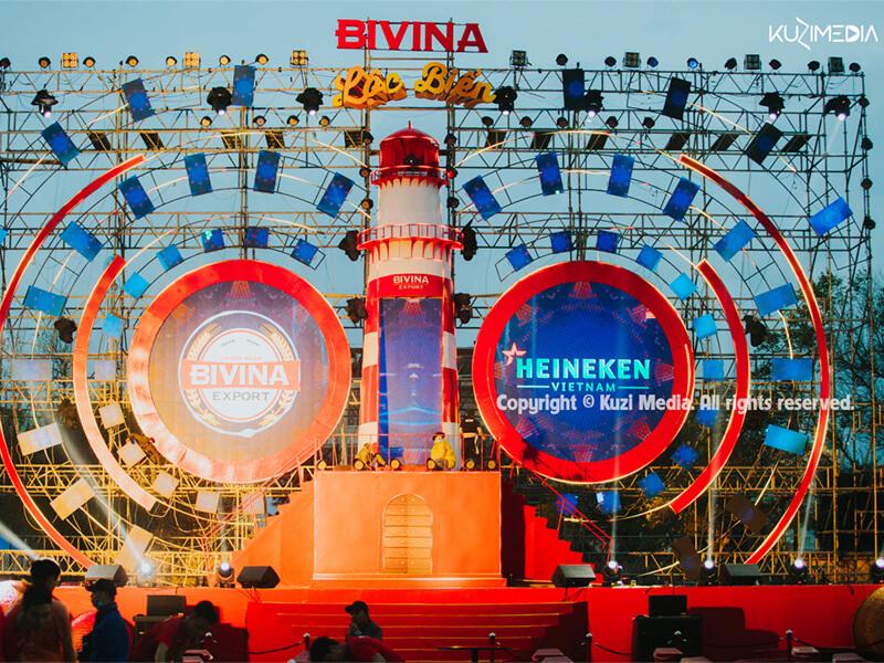 Event Bivina Lộc Biển Tuy Hòa thực hiện bởi KUZI - Media & more