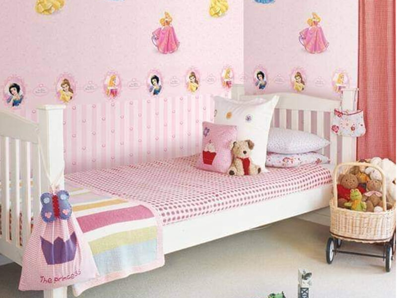 Giấy dán tường cho phòng ngủ trẻ em