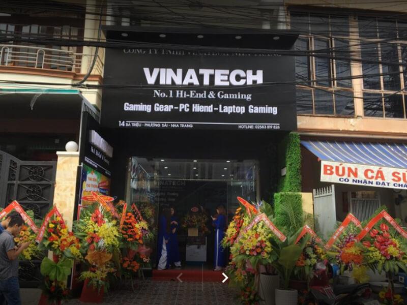 Laptop Nha Trang Vinatech