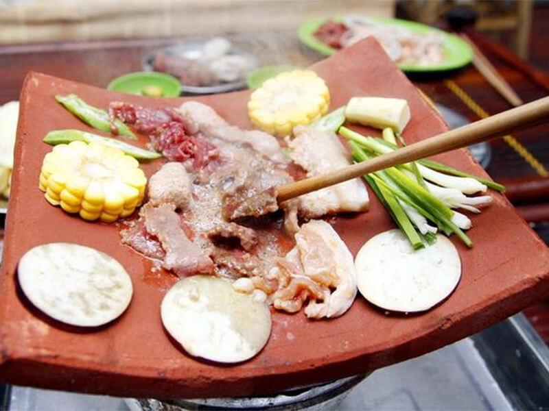 Nguyên liệu nướng ngói Nha Trang