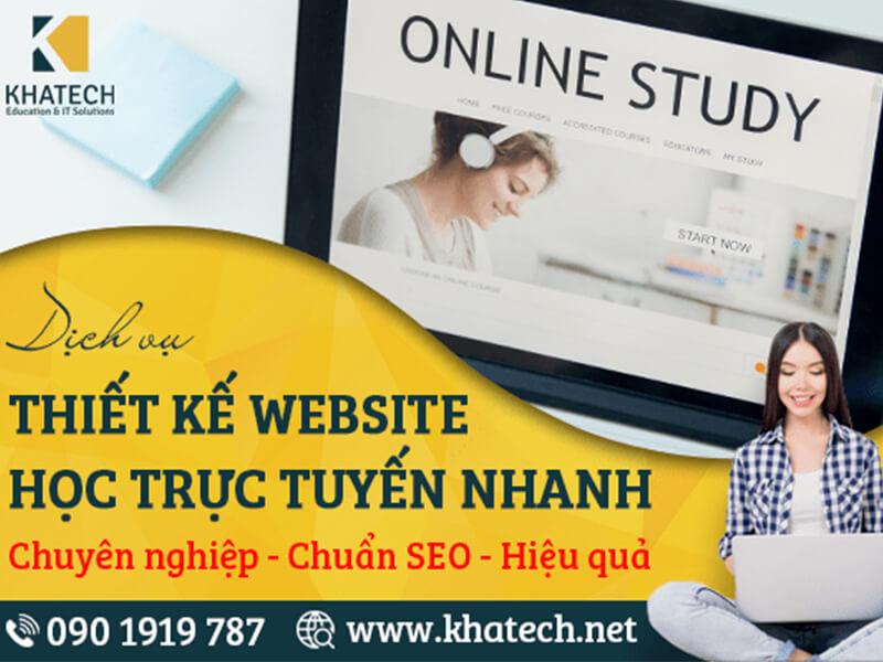 KHATECH Web Design – Công Ty Thiết Kế Web Uy Tín