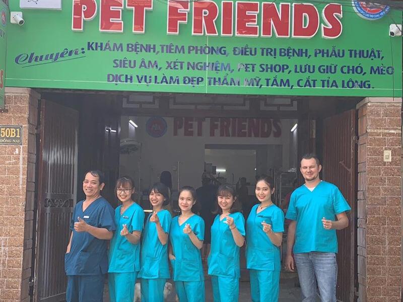 Phòng khám thú y Nha trang - Bệnh Viện Thú Y Pet Friends