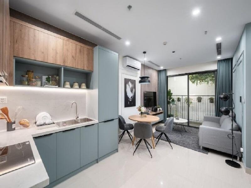 Không gian tủ bếp hiện đại & sang trọng