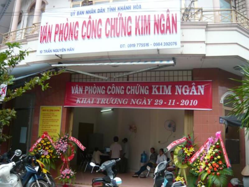Văn phòng công chứng Kim Ngân
