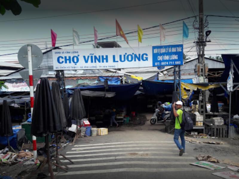 Chợ Vĩnh Lương Nha Trang