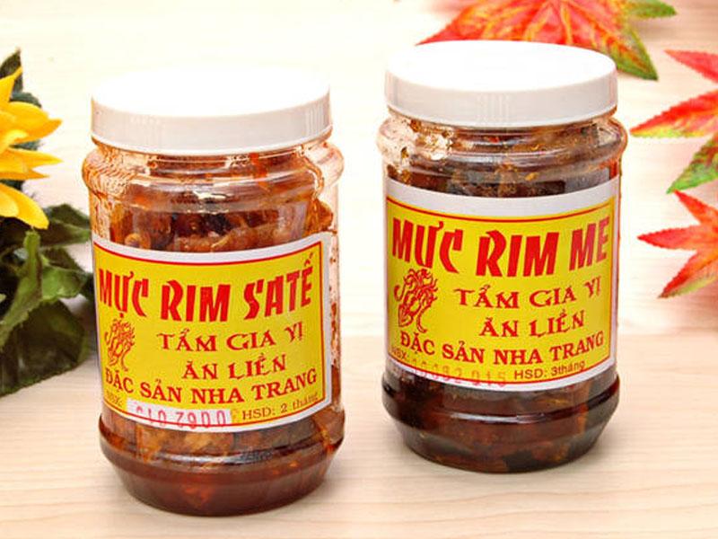 Mực rim Nha Trang