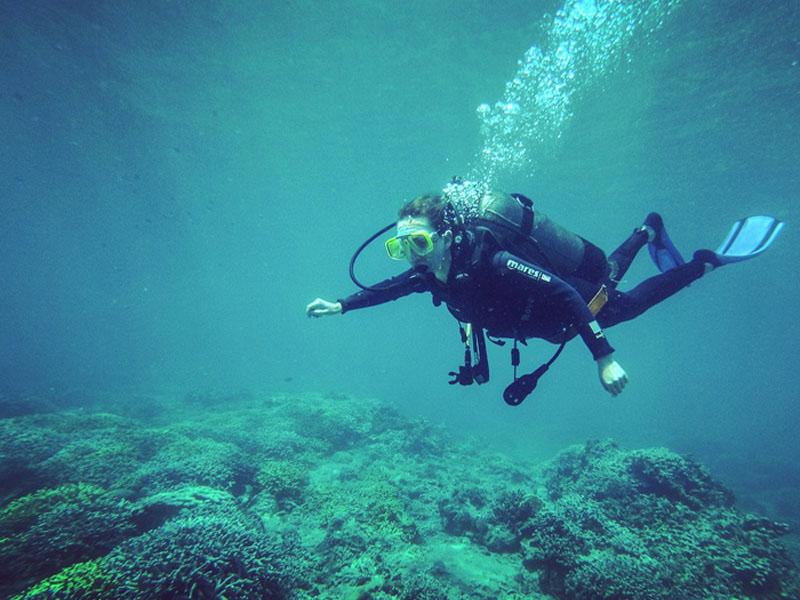 Lặn biển tại Hòn Một