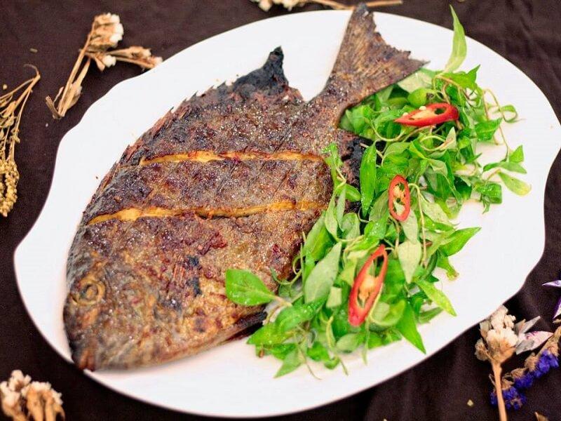 Cá nướng ớt xanh Nha Trang