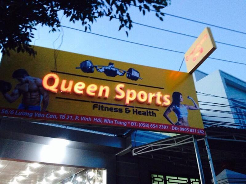 Phòng Gym Nha Trang - Queen Sport