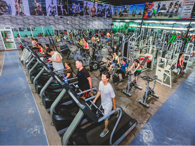 Phòng Gym Nha Trang - Câu Lạc Bộ Hoàng Gia Gym & Yoga