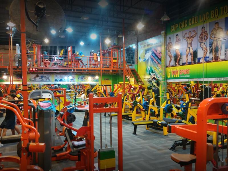 Phòng Gym Nha Trang - Gym Thùy Sport